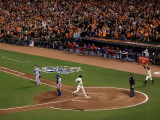 Texas Rangers v San Francisco Giants, Game 2: Aubrey Huff Photographic Print by Ezra Shaw