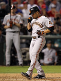 San Francisco Giants v Texas Rangers, Game 3: Andres Torres Photographic Print by Ronald Martinez