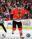 Jonathan Toews 2010-11 Action Photo