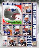 2010 New England Patriots Team Composite Photo
