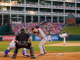 San Francisco Giants v Texas Rangers, Game 3: Colby Lewis Photographic Print by  Pool