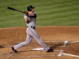 San Francisco Giants v Texas Rangers, Game 4: Aubrey Huff Photographic Print by Stephen Dunn
