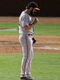San Francisco Giants v Texas Rangers, Game 4: Brian Wilson Photographic Print by Doug Pensinger