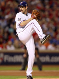 Texas Rangers v. San Francisco Giants, Game 5:  Cliff Lee Photographic Print by Ronald Martinez