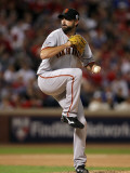 San Francisco Giants v Texas Rangers, Game 3: Jeremy Affeldt Photographic Print by Ronald Martinez