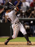 San Francisco Giants v Texas Rangers, Game 3: Cody Ross Photographic Print by Ronald Martinez