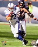 NFL Austin Collie 2010 Action Photo