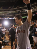 Texas Rangers v. San Francisco Giants, Game 5:  Buster Posey Photographic Print by  Elsa