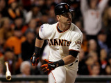 Texas Rangers v San Francisco Giants, Game 2: Aaron Rowand Photographie par Justin Sullivan