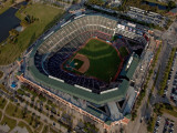 Texas Rangers v. San Francisco Giants, Game 5:  2010 in Arlington Photographic Print by Darren Carroll