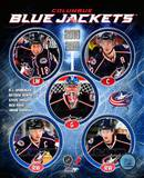 2010-11 Columbus Blue Jackets Team Composite Photographie