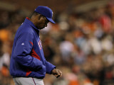 Texas Rangers v San Francisco Giants, Game 2: Ron Washington Photographic Print by Doug Pensinger