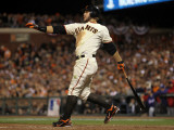 Texas Rangers v San Francisco Giants, Game 2: Cody Ross Photographic Print by Doug Pensinger