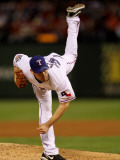 Texas Rangers v. San Francisco Giants, Game 5:  Cliff Lee Photographic Print by Doug Pensinger
