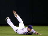 San Francisco Giants v Texas Rangers, Game 4: Josh Hamilton Photographic Print by Christian Petersen