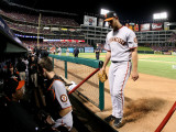 San Francisco Giants v Texas Rangers, Game 4: Madison Bumgarner Photographic Print by  Elsa
