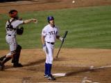 Texas Rangers v. San Francisco Giants, Game 5:  David Murphy Photographic Print by  Elsa