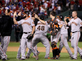 San Francisco Giants v Texas Rangers, Game 4 Photographic Print by Christian Petersen
