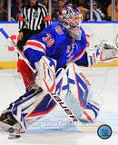 New York Rangers Henrik Lundqvist 2010-11 Action Photo