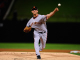 San Francisco Giants v Texas Rangers, Game 4: Madison Bumgarner Photographic Print by  Pool