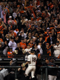 Texas Rangers v San Francisco Giants, Game 2: Matt Cain Photographie par Justin Sullivan