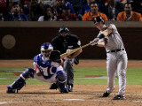 San Francisco Giants v Texas Rangers, Game 4: Buster Posey Photographic Print by Doug Pensinger