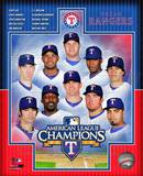 Texas Rangers 2010 American League Champions Composite Photographie