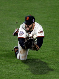 Texas Rangers v San Francisco Giants, Game 2: Cody Ross Photographie par Jed Jacobsohn