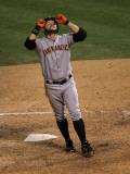 San Francisco Giants v Texas Rangers, Game 3: Cody Ross Photographic Print by Stephen Dunn