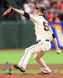 Tim Lincecum Game One of the 2010 World Series Action Photo