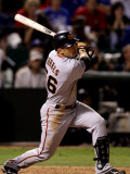 San Francisco Giants v Texas Rangers, Game 4: Andres Torres Photographic Print by Christian Petersen