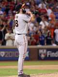 San Francisco Giants v Texas Rangers, Game 4: Brian Wilson Photographic Print by Christian Petersen