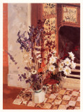 Dried Flowers and Daisies Posters by Geraldine Girvan
