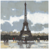 Cloudy Day in Paris I Prints by Norman Wyatt Jr.