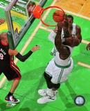 Boston Celtics Shaquille O'Neal 2010-11 Action Photo
