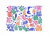The Parakeet and the Mermaid Siebdruck von Henri Matisse