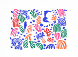 The Parakeet and the Mermaid Serigraph by Henri Matisse