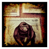 Gorilla Stamp Plakater af Jean-François Dupuis