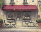 Chez Colette Prints by James Wiens