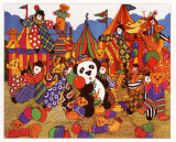 Fairground Fun Prints by Penelope Cox