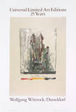 Savarin, Monotype Collectable Print by Jasper Johns