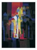 Town by Night Affischer av Ton Schulten