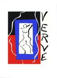 Cover of Verve Silketrykk av Henri Matisse