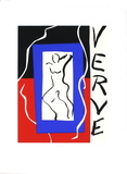 Cover of Verve Serigraph by Henri Matisse