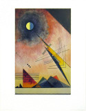 Hinauf 1925 Print by Wassily Kandinsky