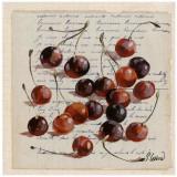 Griottes Kunstdrucke von Pascal Cessou