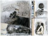 Matin de Brume Kunstdrucke von Anne Virlange