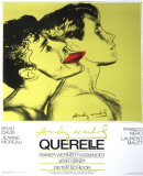 Querelle Green Collectable Print by Andy Warhol