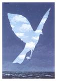 L'entree en scene Plakat af Rene Magritte