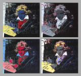 Beethoven X 4 Collectable Print by Andy Warhol